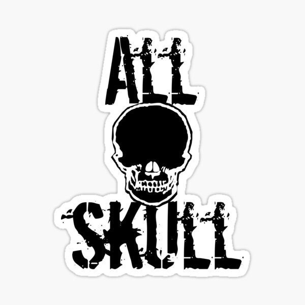 All Skull - The Force Sticker
