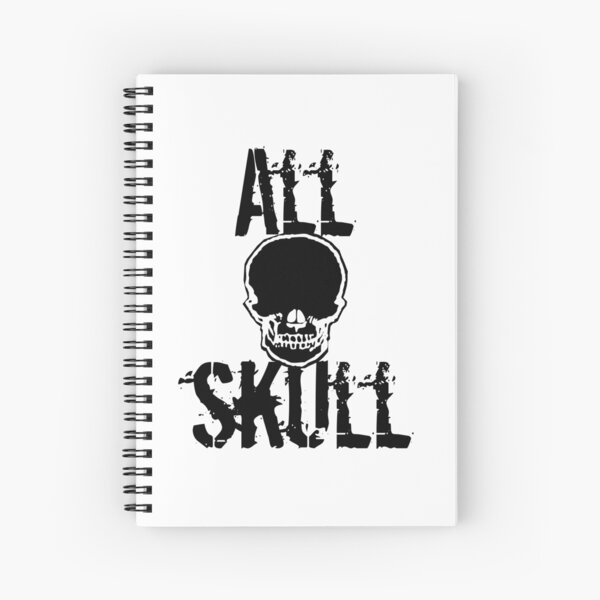 All Skull - The Force Spiral Notebook