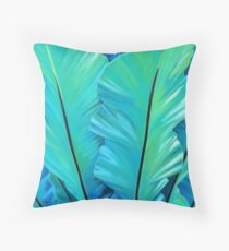 Birdy Sisters Throw Pillow