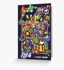 Bomber Battle - Player 01 (alternative) Greeting Card