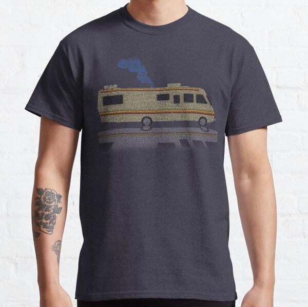 Toda la historia envuelta en una casa rodante (Breaking Bad RV) Camiseta clásica