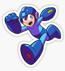 Megaman Running Sticker
