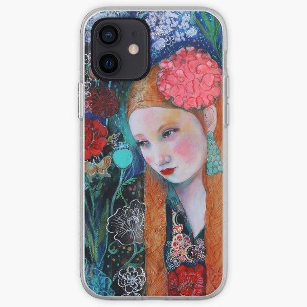 botanical camoflouge iPhone Soft Case