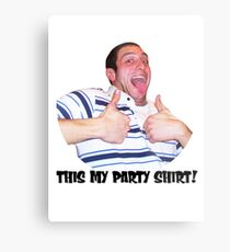 Bobby party Metal Print