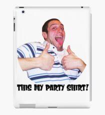 Bobby party iPad Case/Skin