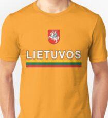 Lithuanian Lietuvos National Soccer & Sport Unisex T-Shirt