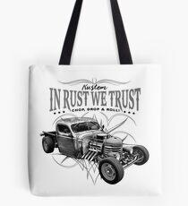 In Rust We Trust C,D & R Tote Bag