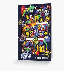 Bomber Battle - Player 02 Greeting Card