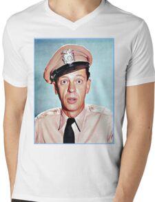 Barney Fife in color Mens V-Neck T-Shirt