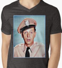 Barney Fife in color Men's V-Neck T-Shirt