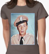 Barney Fife in color Women's Fitted T-Shirt