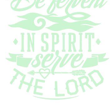 Spirit To Serve The Lord by artikulasi
