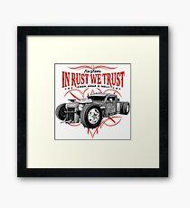 IRWT - Undertaker Framed Print