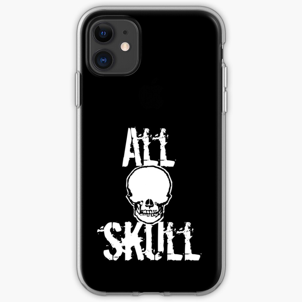 All Skull - The Dark Side iPhone Case & Cover
