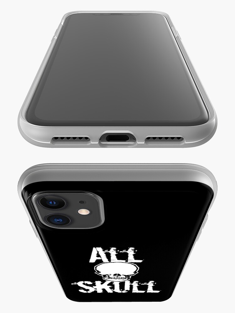 Alternate view of All Skull - The Dark Side iPhone Case & Cover