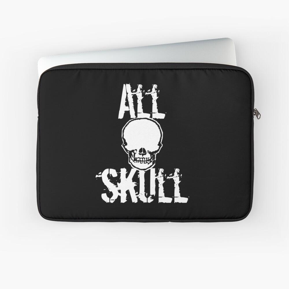 All Skull - The Dark Side Laptop Sleeve