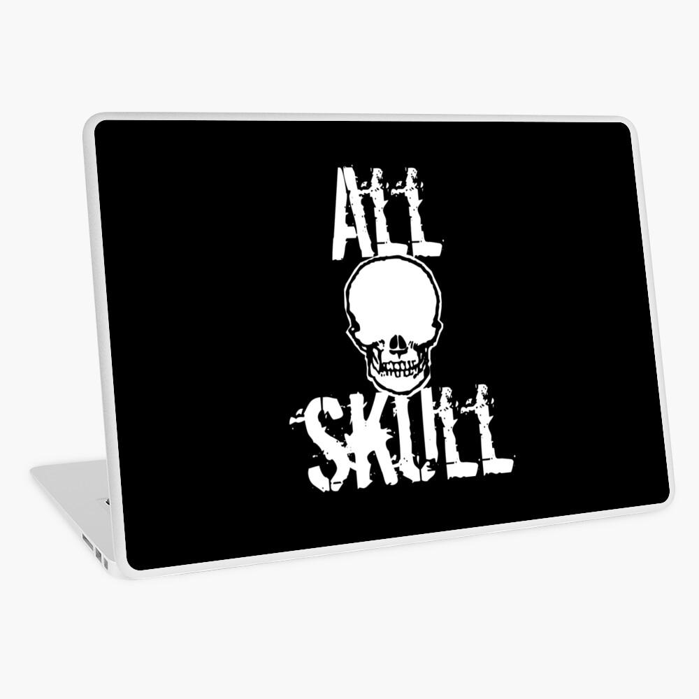 All Skull - The Dark Side Laptop Skin