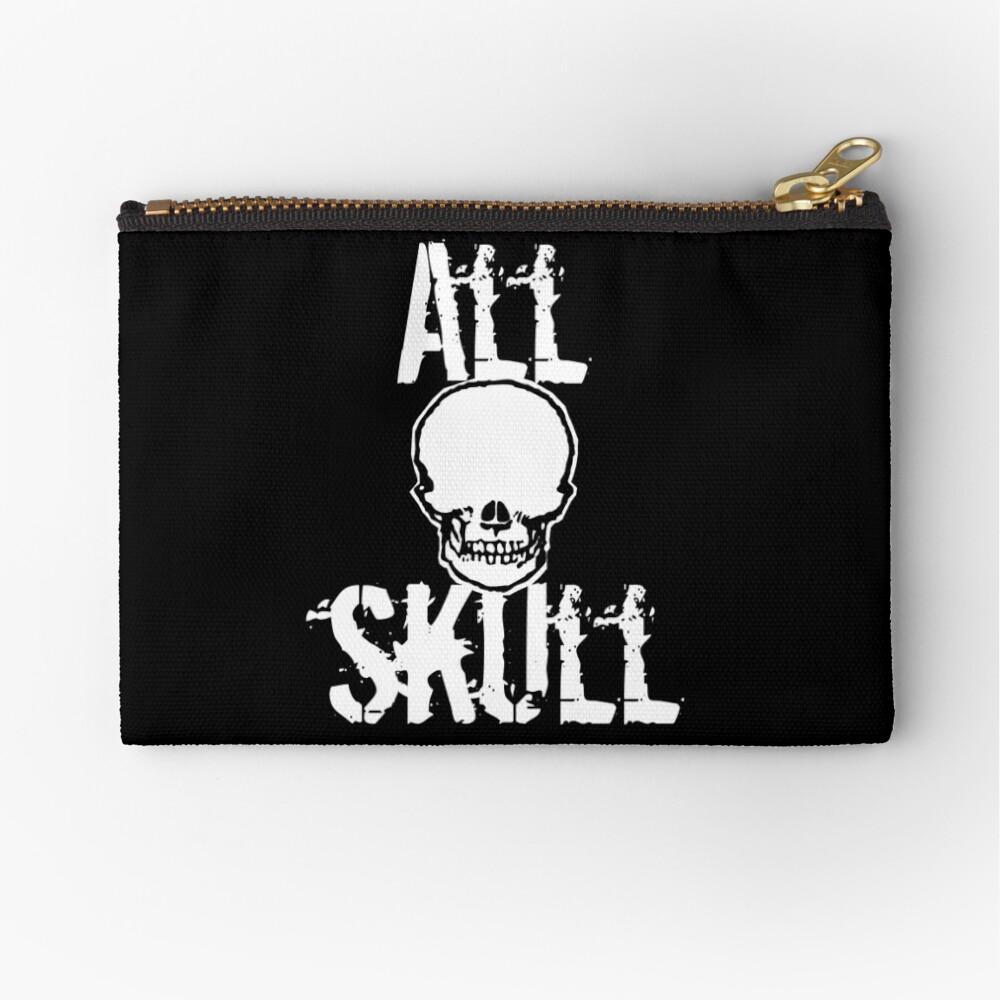 All Skull - The Dark Side Zipper Pouch