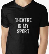 Theatre Is My Sport Men's V-Neck T-Shirt