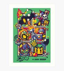 Bomber Battle - Player 05 Art Print