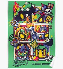 Bomber Battle - Player 05 Poster