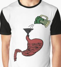 Drinking Green Beer Graphic T-Shirt