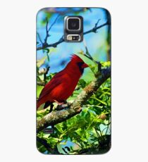 Red Cardinal Case/Skin for Samsung Galaxy