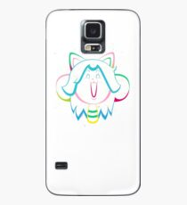Temmie Flake Tripout Case/Skin for Samsung Galaxy