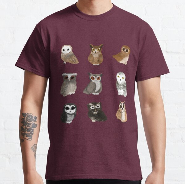 All different kinds of hoots!  Classic T-Shirt