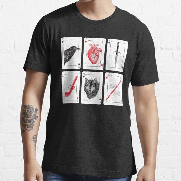 Seis de Cuervos - Rojo Camiseta esencial