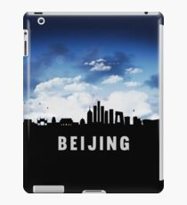 Beijing China Skyline Cityscape at Nightfall iPad Case/Skin