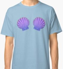 Mermaid Seashell Bra Ornament  Classic T-Shirt