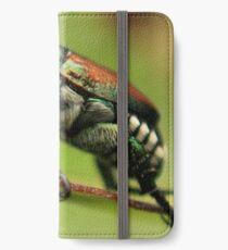 Japanese Beetle iPhone Wallet