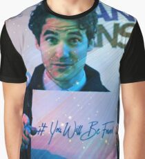 Darren Criss You Will Be Found 1 Graphic T-Shirt