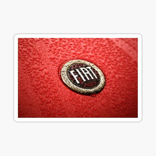 Wet Fiat Marquee Sticker