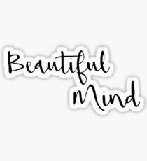 Beautiful Mind 4 Sticker