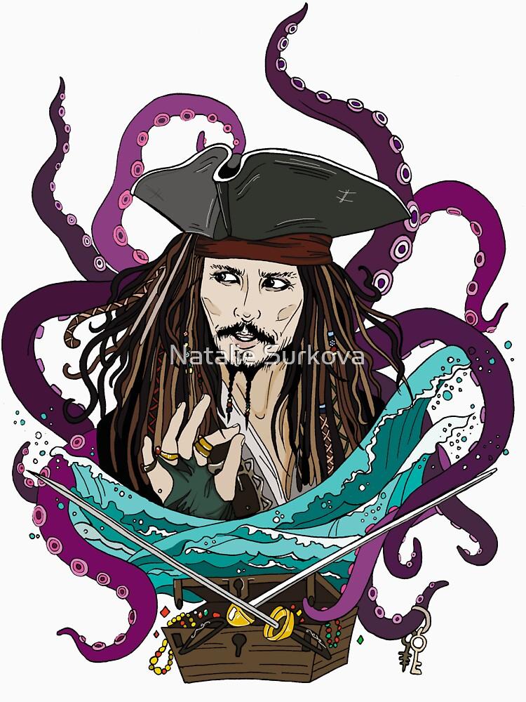Jack Sparrow by NataliaSurkova