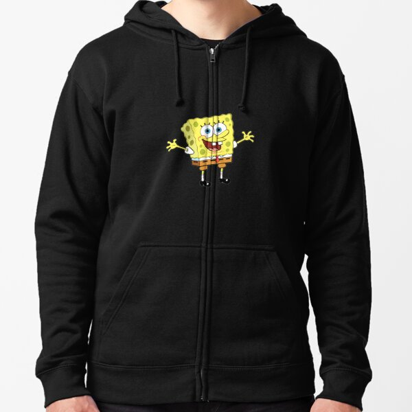 spongebob Zipped Hoodie