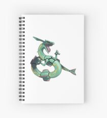 Rayquaza Spiral Notebook