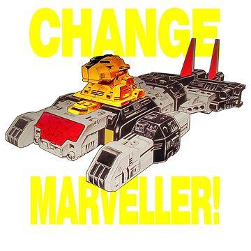 Supaidaman!  CHANGE MARVELLER! by atomicthumbs78
