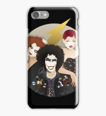 Musicals: The Rocky Horror Picture Show - Magenta, Frank, & Columbia Lineless Design iPhone Case/Skin