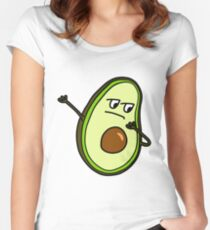 AVOCADO DAB Women's Fitted Scoop T-Shirt