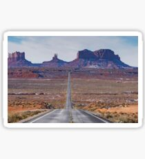 Monument Valley National Park in Arizona, USA Sticker