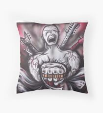 Scream It out Throw Pillow