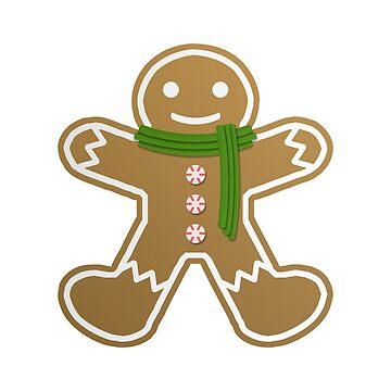 Gingerbread man  by vdBurg