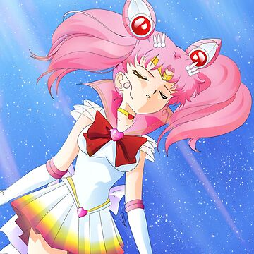 Super Sailor Chibimoon by OuterSaturn