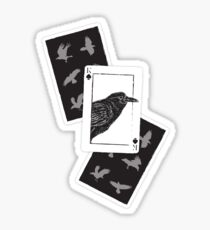 Pegatina Kaz of Spades - Seis de cuervos