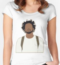 J. Cole Women's Fitted Scoop T-Shirt