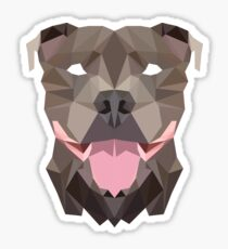 Staffy geo Sticker