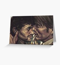 Cuddly Murder Husbands Greeting Card
